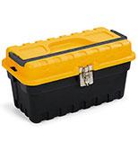 جعبه ابزار استرانگو با قفل فلزی 18 اینچ AbzarSara SM02