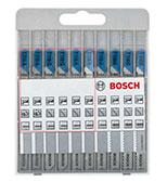 ست 10 تایی انواع تیغه اره عمود بر فلز Bosch X-line 2607010631