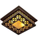 لوستر سقفی کوچک مدل توپاز دارکار