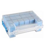 اورگانایزر دو قلوی 11 اینچ آبی MANO TORG 11 BLUE کد TORG11BLUE