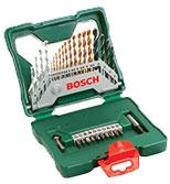 ست جعبه ای 30 عددی مته و سرپیچ گوشتی Bosch  2607019324