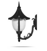 چراغ دیواری شب تاب مدل سلطنتی شاخه کلاسیک سربالا