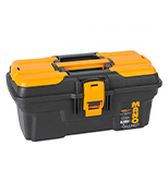 جعبه ابزار با قفل فلزی به همراه اورگانایزر 13 اینچ Mano MG13  کد MG13