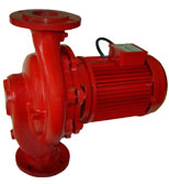 پمپ آب صنعتی نوید موتور مدل 20-65 تکفاز