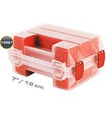 اورگانایزر دو قلوی 7 اینچ قرمز MANO TORG 7 RED کد TORG7RED