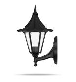 چراغ دیواری شب تاب مدل چتری شاخه فانتزی سربالا