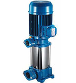 پمپ آب عمودی طبقاتی استیل پنتاکس U5SV-180/6