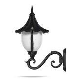 چراغ دیواری شب تاب مدل سلطنتی شاخه سناتور سربالا