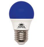 لامپ حبابی پارمیس مدل LED BULB 5W آبی