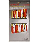 سری پیچ گوشتی فشارقوی 1000ولت a-kraft AA069021