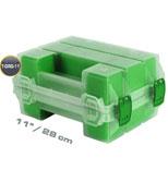 اورگانایزر دو قلوی 11 اینچ سبز MANO TORG 11 GREEN  کد TORG11GREEN