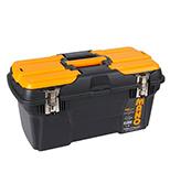جعبه ابزار با قفل فلزی به همراه اورگانایزر 19 اینچ Mano MG19 کد MG19