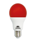 لامپ حبابی پارمیس مدل LED BULB 9W قرمز