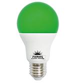 لامپ حبابی پارمیس مدل LED BULB 9W سبز