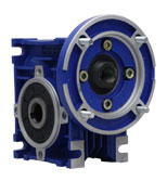 گیربکس حلزونی سهند سری w سایز 40 نسبت 1 به 7.5