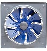 هواکش 35 سانت صنعتی فلزی دمنده با پروانه فلزی VIA-35C4S