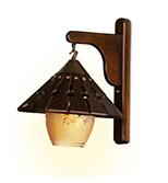 لوستر دیواری مدل کلاه چینی دارکار