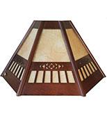 لوستر دیواری مدل چتری منبت دارکار