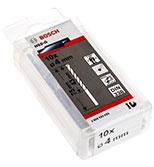 مته فلز 10 تایی  Bosch HSS-G D4mm  2608595059