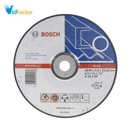 صفحه برش محدب فلز  2608600316  Bosch D180x3x22.2