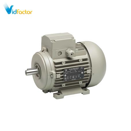 الکتروموتور سه فاز الکتروژن مدل 1500 دور 5.5hp B3-112fr