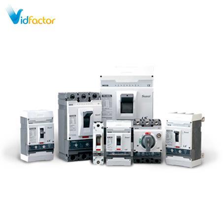 کلید اتوماتیک کامپکت سوسل LS حرارتی قابل تنظیم TD100N FMU 100 3