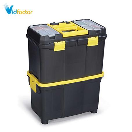 جعبه ابزار چرخدار دو قلو 18 اینچ AbzarSara Po10M