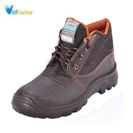 کفش ایمنی ای بی زد ساق بلند ساده سایز 43 مشکی SB00143BK