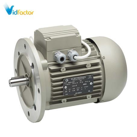 الکتروموتور تک فاز رله ای آلومینیومی 3000دور الکتروژن CR-1.4hp B5-63