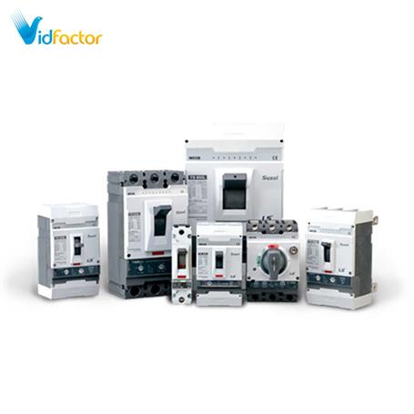 کلید اتوماتیک کامپکت سوسل LS حرارتی قابل تنظیم TD100N FMU 63 3