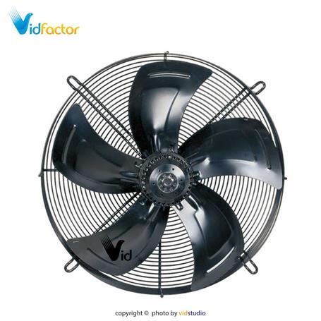 هواکش تاسیساتی 60 سانت بدون قاب زیلابگ FTP 4D-600S